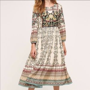 Anthropology Bhanuni by Joytti far field dress.